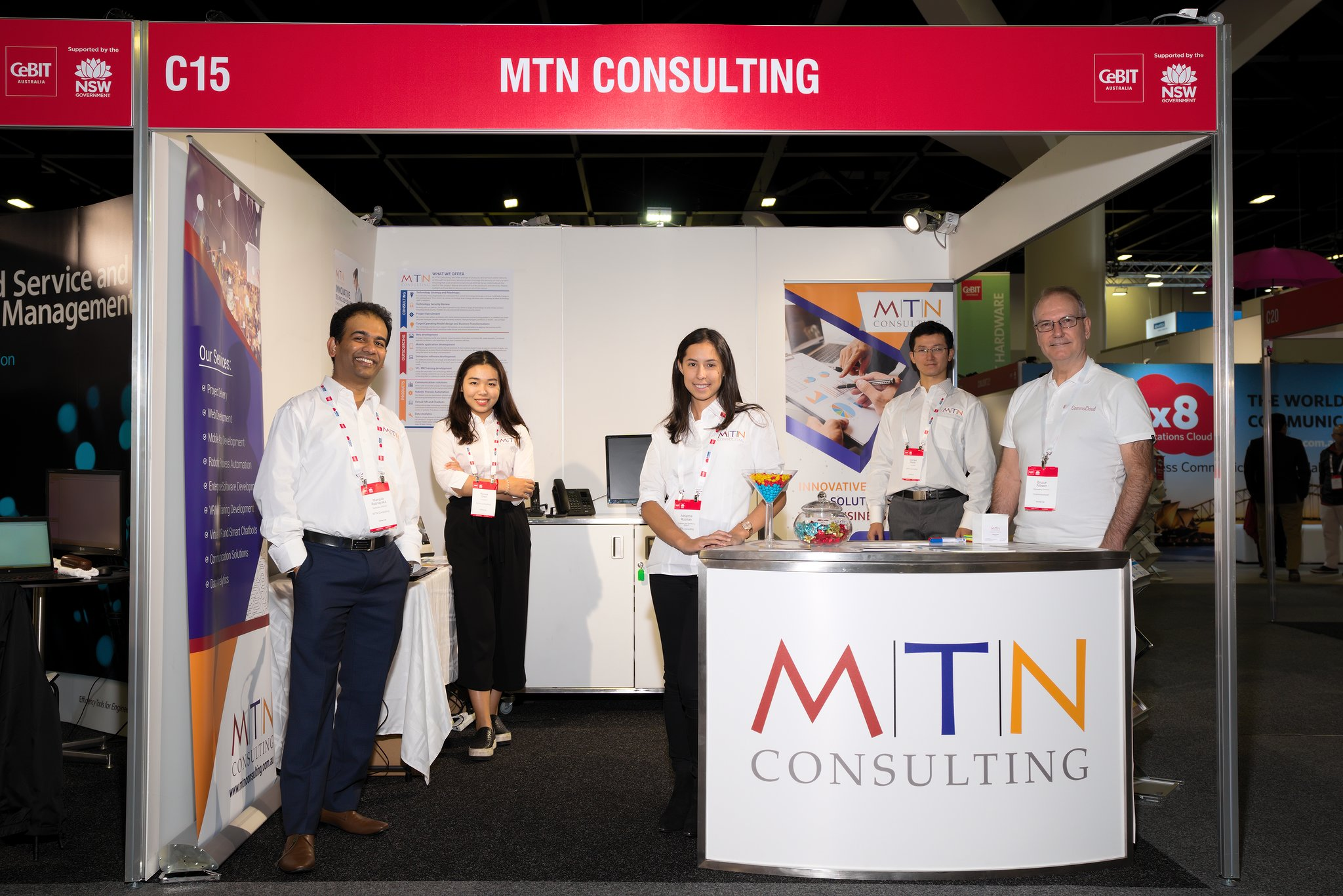CeBIT 2018 for MTN Consulting